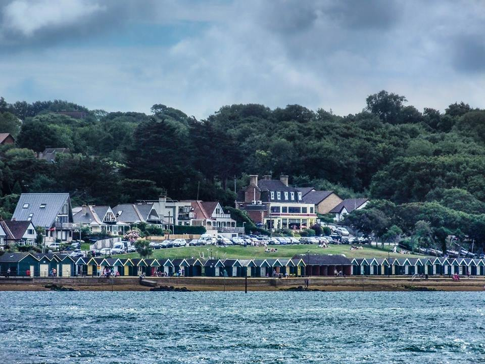 Gurnard Bay from the Sea