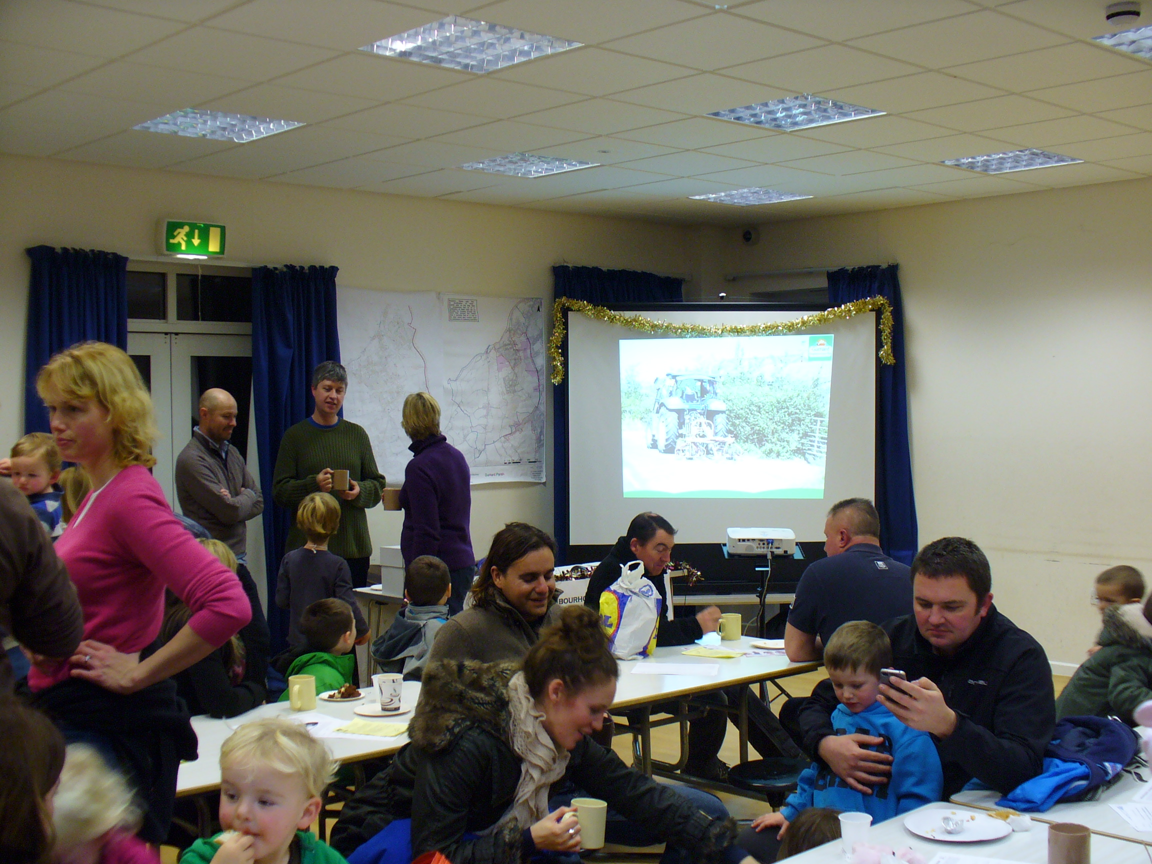 Gurnard Primary School Christmas Fayre - Neighbourhood Plan Consultation 7-12-12