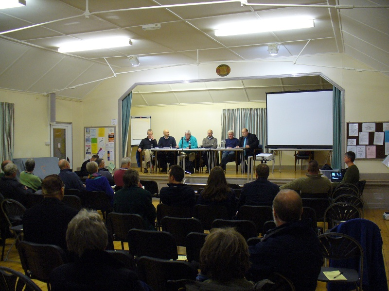 Neighbourhood Plan Public Meeting 29-11-12 (2) meeting in progress
