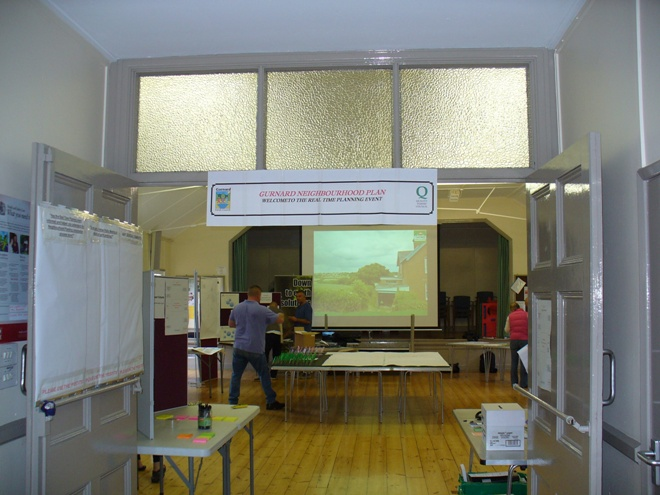 Preparing the Hall