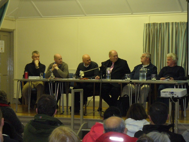Public Meeting 21-3-13 Panel taking questions